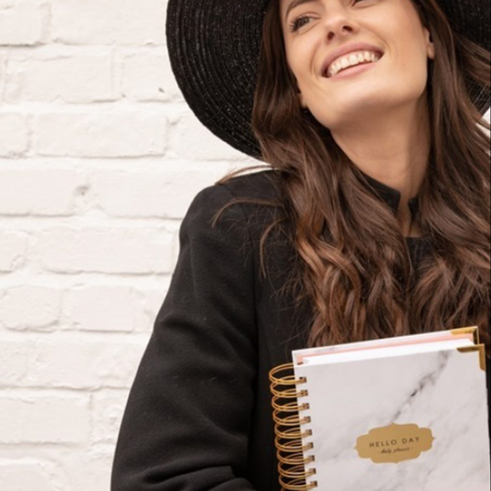 Hello Day Planner: Smash Your Life And Self Care Goals